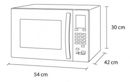 medidas microondas