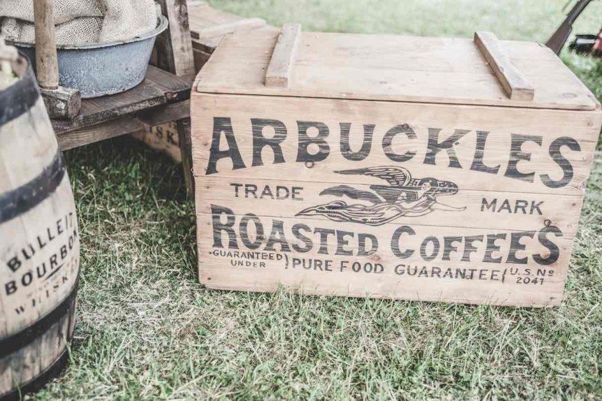 cajas de madera vintage