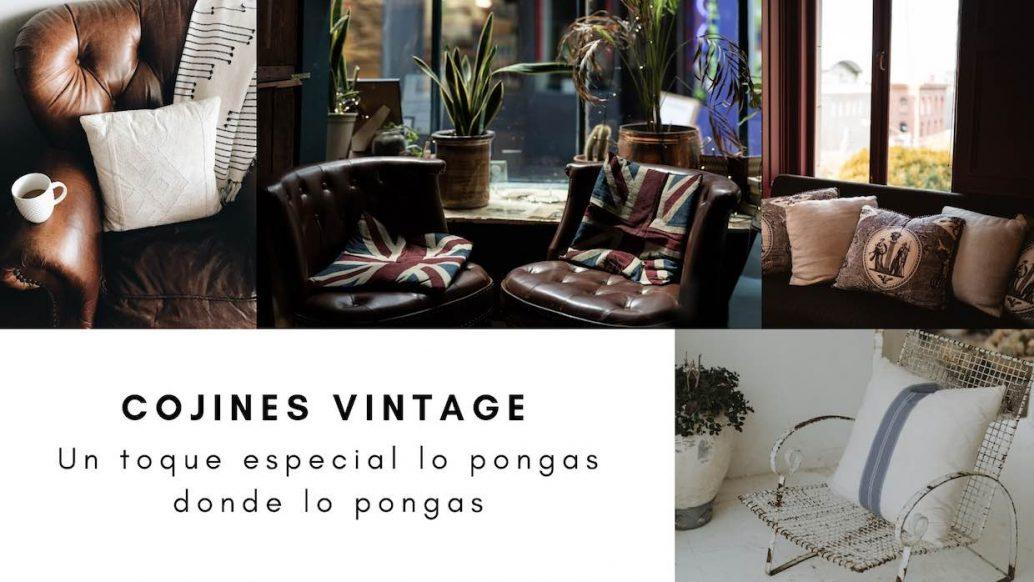 cojines vintage
