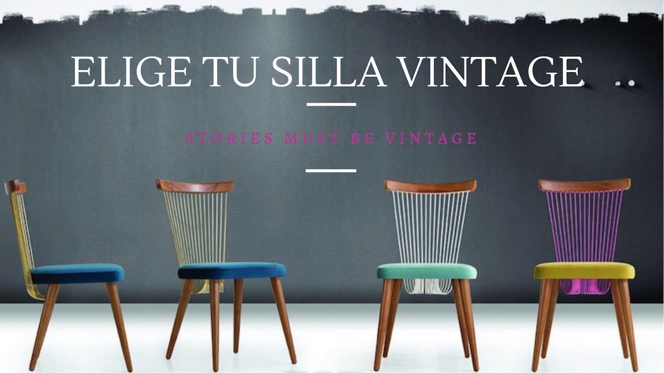 sillas vintage