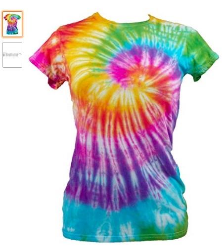 camiseta hippy mujer