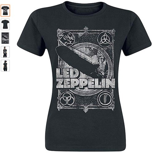 camiseta rockabilly mujer