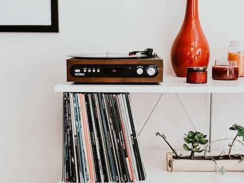 tocadiscos vintage retro
